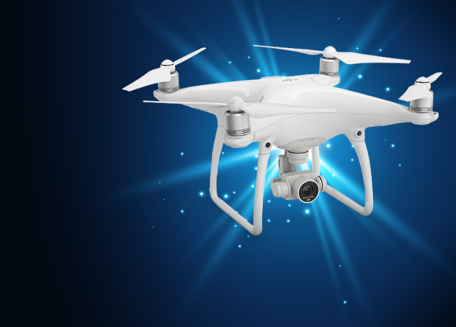 DJI Phantom 4 - Go to our recreational section